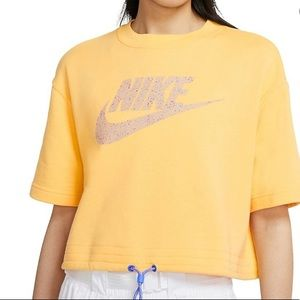 Nike Icon Clash Cropped Top NWT
